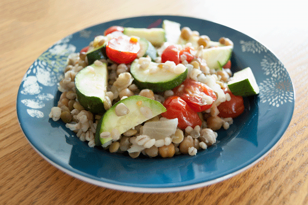 Pulse and Barley Salad