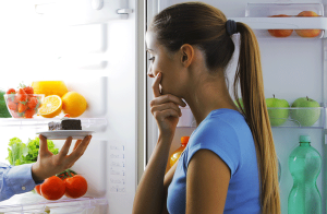 Girl battles emotional eating